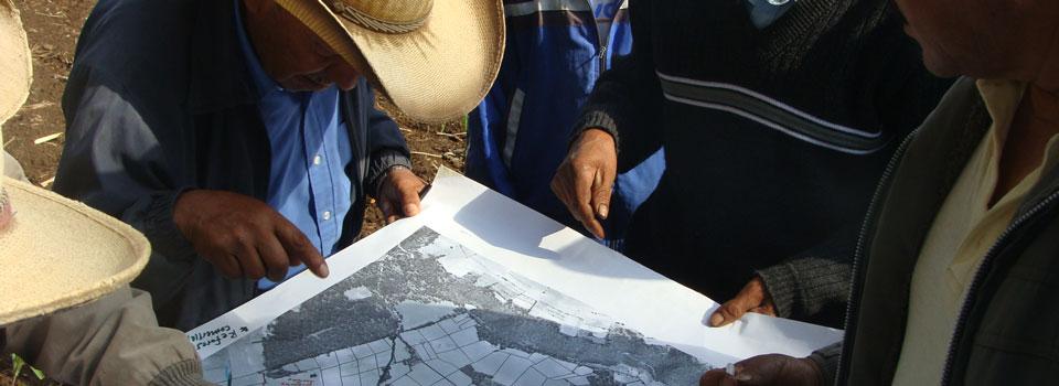 Planeación territorial comunitaria